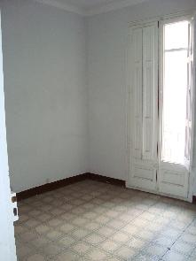 Sector de la habitación estado original.